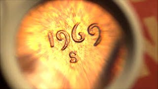 Download Could this be a $100,000 Penny? 1969-S Doubled Die Obverse Lincoln Cent found in COIN ROLL Video