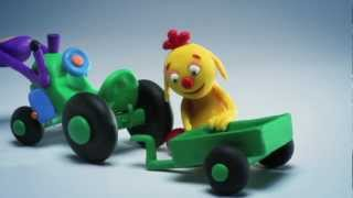 Download ClayPlay - Play Doh Stop Motion Animation - Tractor Episode Video