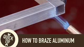Download How to ″Weld″ Aluminum Without a Welder Video