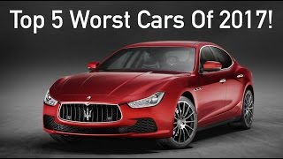 Download Top 5 WORST Cars of 2017 | DO NOT BUY THESE!!! Video