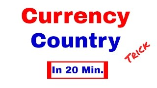 Download Currency - Country Trick to learn currencies of All important countries | Static GK [In Hindi] Video