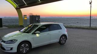 Download Volkswagen eGolf on a 500 KM daytrip in the cold Video