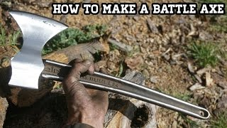 Download Make Custom Battle Axe With Wrench Handle Video
