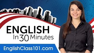 Download Learn English in 30 Minutes - ALL the English Basics You Need Video