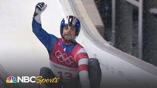 Download Chris Mazdzer's silver medal run in men's singles luge Video