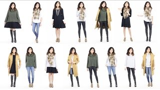 Download 10 Pieces = 15 Looks | Winter Capsule Wardrobe Minimalist | Miss Louie Video