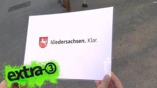 Download Realer Irrsinn: Neuer Slogan für Niedersachsen | extra 3 | NDR Video