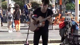 Download Jack Sheppard performing in front of Custom House Sydney 26/1/16 Video