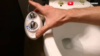 Download Use a Bidet for a cleaner BUTT! Work on ANY Toilet! Benefits, installation, and review! Video