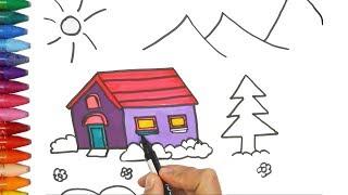 Menggambar Rumah Untuk Anak Tk Free Download Video Mp4 3gp M4a
