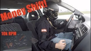 Download The Money Shift!!! TURBO HONDA blows ENGINE!!! Video
