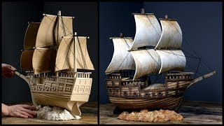 Download ❣DIY Pirate Ship Using Cardboard❣ Video