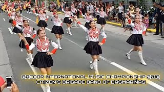 Download Citizens Brigade Band of Dasmariñas(CBBD)-Bacoor International Music Championship Street Parade 2018 Video
