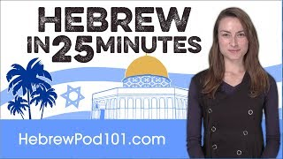 Download Learn Hebrew in 25 Minutes - ALL the Basics You Need Video