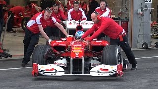 Download BEST OF FERRARI FORMULA 1 - V8, V10 and V12! Video