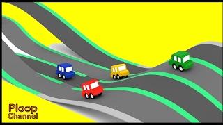 Download Cartoon Cars - TWISTY RACETRACK - Cartoons for Children Video