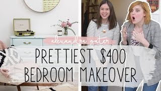 Download EPIC BEDROOM MAKEOVER FOR UNDER $400 | FEAT. STACEY MCGUNNIGLE Video