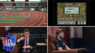 Download Late Show 3-Legged Race: Video Game Speedrunner Edition Video