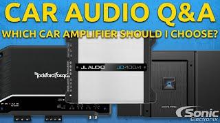 Download Which Car Amplifier Should I Choose? | Car Audio Q&A Video