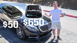 Download Is A $50 Radar Detector BETTER Than A $650 Detector?? Video