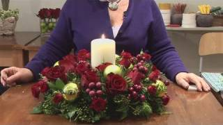 Download How To Design Christmas Candle Centerpieces Video