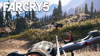 Download FAR CRY 5 FREE ROAM: HUNTING & FISHING!! (Far Cry 5 Gameplay) Video