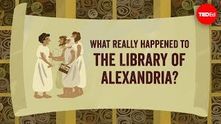 Download What really happened to the Library of Alexandria? - Elizabeth Cox Video