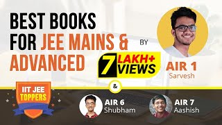 Download What books to study for IIT JEE Main & Advanced | AIR 1 Sarvesh Mehtani with teachers | Vedantu Video