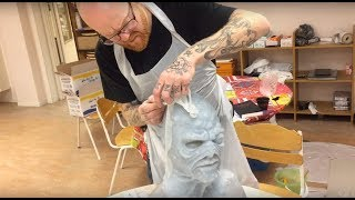 Download 10-Day Silicone Mask Making Workshops - Helsinglight SFX Makeup Academy Sweden Video