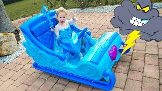 Download Disney Frozen Sleigh Ride and saving toys Video for kids Video