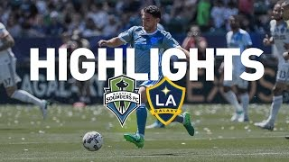 Download Highlights: Seattle Sounders FC at LA Galaxy | April 23, 2017 Video