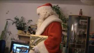 Download Der echte Weihnachtsmann ist zu uns gekommen! Video