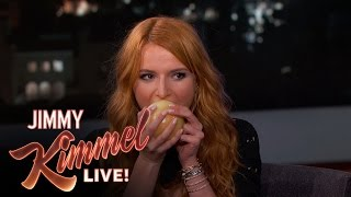 Download Bella Thorne Eats an Onion Video