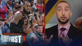Download Nick Wright reacts to LeBron leading Cavs to comeback win over Wizards | FIRST THINGS FIRST Video