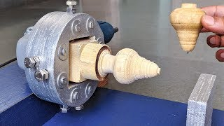 Download How to Make a Lathe Machine using Angle grinder at Home Video