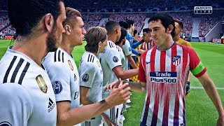 Download FIFA 19 - Atlético Madrid vs Real Madrid | Gameplay HD PS4 PRO Video