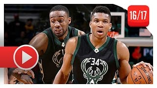 Download Giannis Antetokounmpo & Jabari Parker Full Highlights vs Cavaliers (2016.12.20) - 55 Pts Total Video