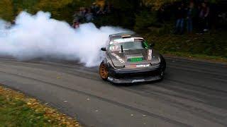 Download Nissan s13 2JZ-GE +T VVTI 700HP BanOFF Marcin Banowicz Drift Show Series Izdebki #kingofthehill Video
