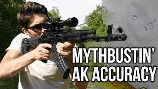 Download Mythbusting: Is the AK *REALLY* inaccurate compared to an AR15? Video