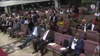 Download Pastor runs away during church service Video