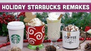 Download DIY Starbucks Holiday Remakes! Salted Caramel Mocha, Gingerbread Latte & More - Mind Over Munch Video