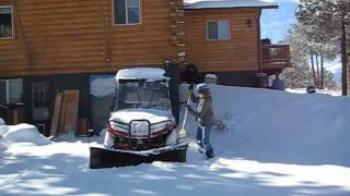 Download Snow in Colorado, Arctic Cat, Part 2 of 2 Video