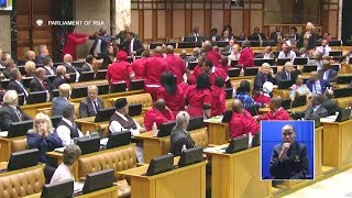 Download BIG FIGHT In Parliament - EFF vs DA And AGANG - Watch It All Video