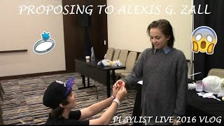 Download PROPOSING TO ALEXIS G. ZALL!? (Playlist live vlog) Video