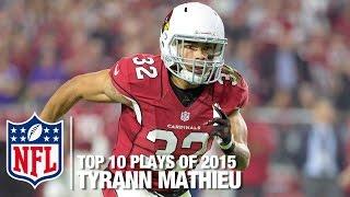 Download Top 10 Tyrann Mathieu Highlights of 2015 | NFL Video