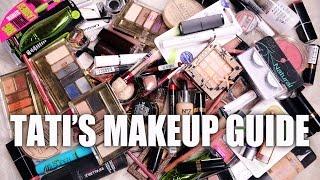 Download ULTIMATE Drugstore MAKEUP GUIDE | Tati's Favorites Video