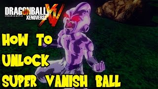 Download Dragon Ball Xenoverse: How To Unlock Super Vegeta 2 Transformation & Super Vanishing Ball Video