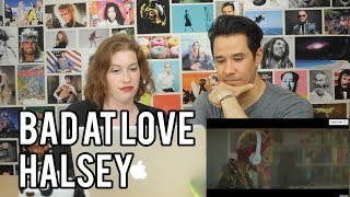 Download HALSEY - Bad At Love - REACTION!! Video