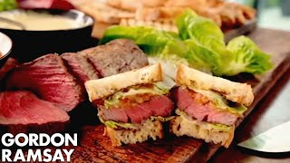 Download The Ultimate Steak Sandwich - Gordon Ramsay Video