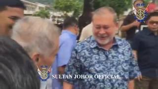 Download Sultan of Johor : Visit to Penang Island, May 2016. Video